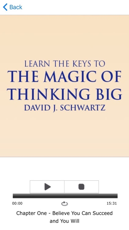 Magic Of Thinking Big Meditations David Schwartz screenshot-3