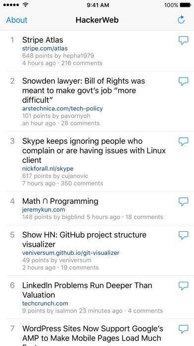 HackerWeb - Hacker Ne... screenshot1