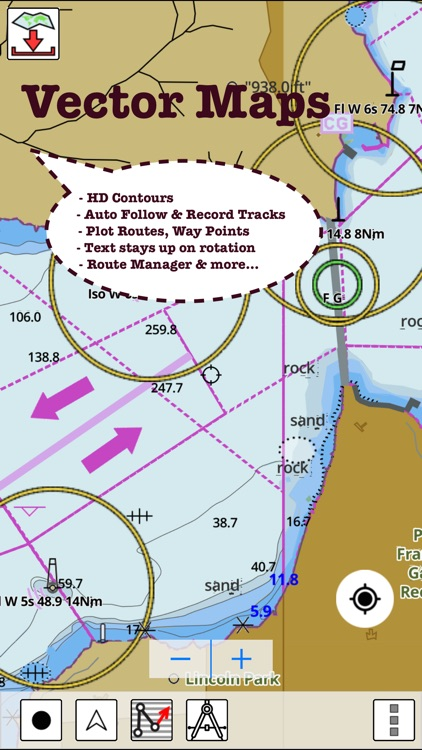 i-Boating:Sweden GPS Nautical / Marine Charts & navigation maps screenshot-4