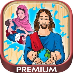 Bible coloring book to paint and color  - Premium