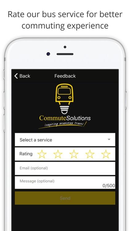 Commute Solutions screenshot-4