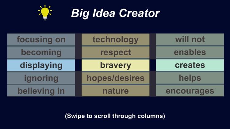 Big Idea Creator