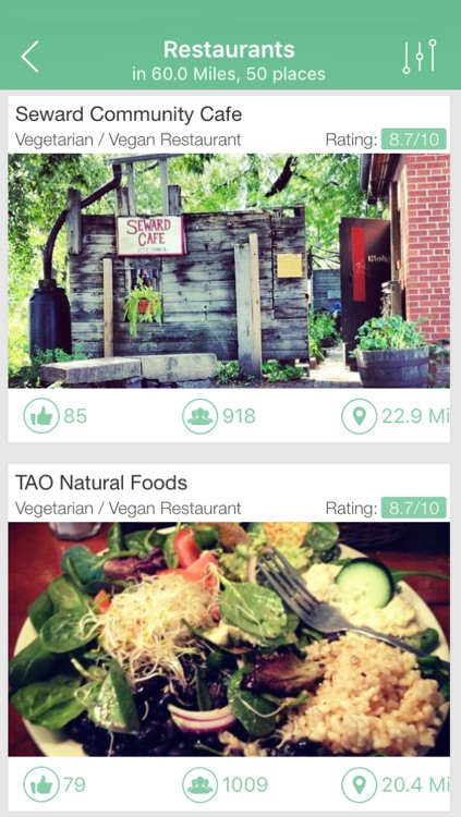 Vegetarian and Vegan Restaurants Finder screenshot-3