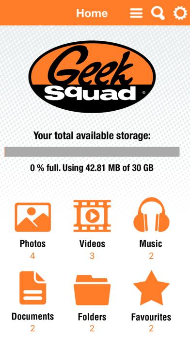 Geek Squad Cloud Manager screenshot one