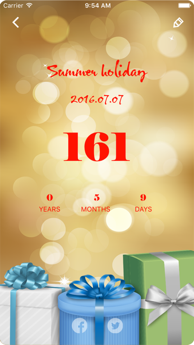 Dreamdays: Count Down to the Anniversary Free screenshot four