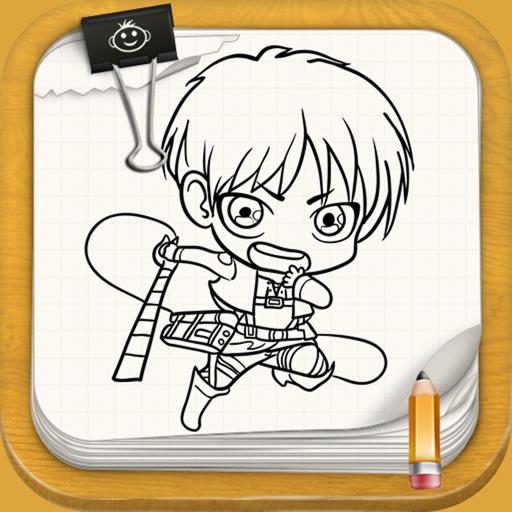 Learn To Draw Attak On Tittan
