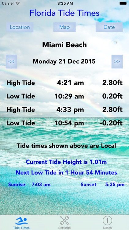 Florida Tide Times