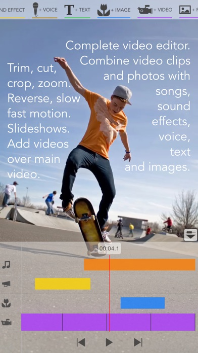 Screenshot #6 for Videocraft - Best Video Editor Photo Slideshow