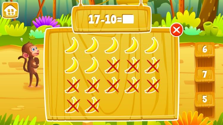 Math Jungle : Grade 1 screenshot-4