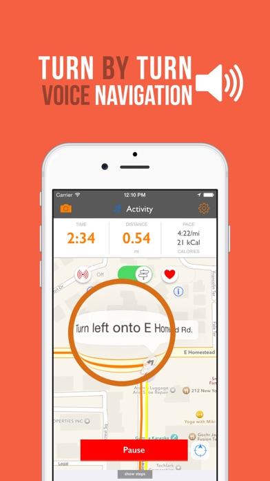 NavRun - Circular Route Builder and GPS Tracker screenshot three