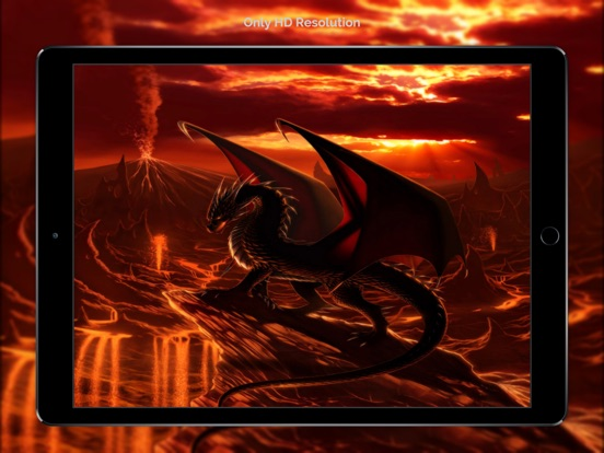 Dragon Wallpapers & Backgrounds + Amazing Fire Wallpaper Free HD-ipad-3
