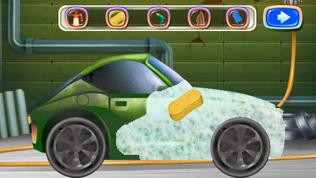jeux de voiture laver