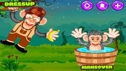 Baby Chimpanzee Salon screenshot two