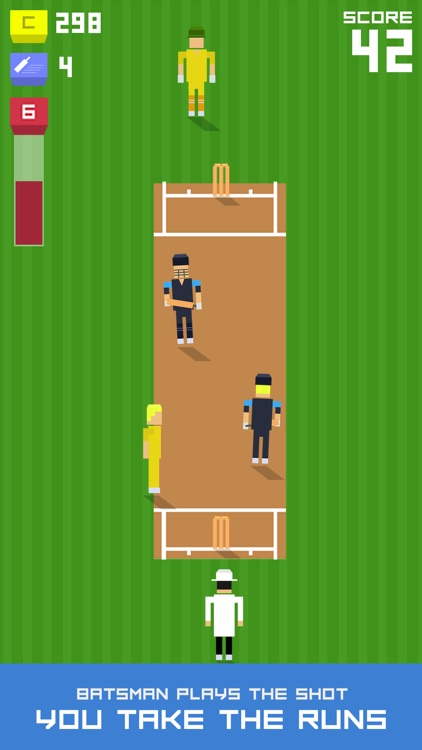 One More Run: Endless Cricket Runner screenshot-1