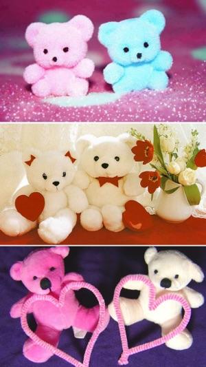 Cute teddy bear wallpapers on the app store screenshots voltagebd Choice Image