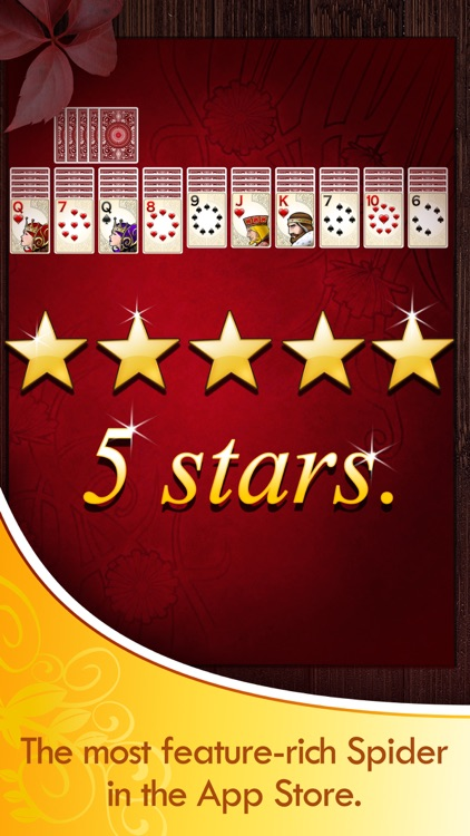 Spider Solitaire Deluxe® screenshot-0
