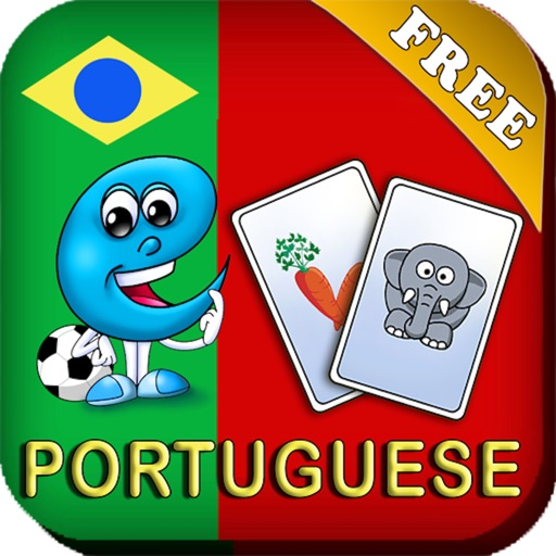 Portuguese Baby Flash Cards - Kids learn to speak Portuguese quick with flashcards iOS App