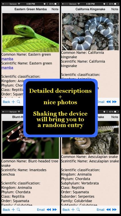 Snakes Encyclopedia Plus+