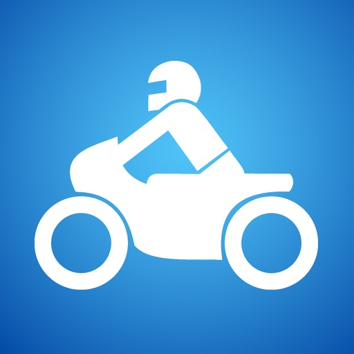 Motorcycle Ride Tracker -  GPS Moto Navigation for Bikers, Motoriders, Scooters