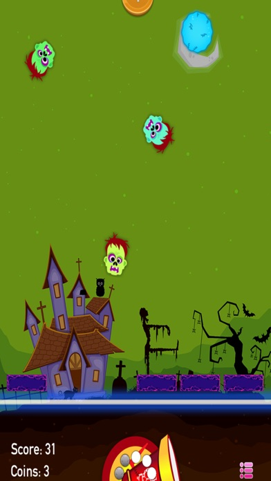 Zombies Drop - Join The Shooter Mania And Make 'Em Disappear Like Stupid Bubbles screenshot three