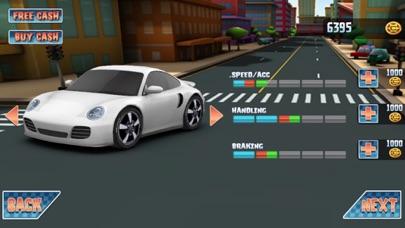 3D 楽しいレースゲーム 最高の車ゲーム 無料の高速レースのおすすめ画像2