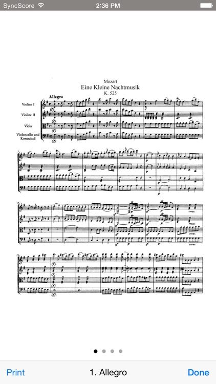 Mozart Eine kleine Nachtmusik screenshot-3