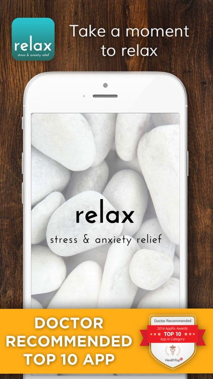 Relax Lite: Stress and Anxiety Relief screenshot-0