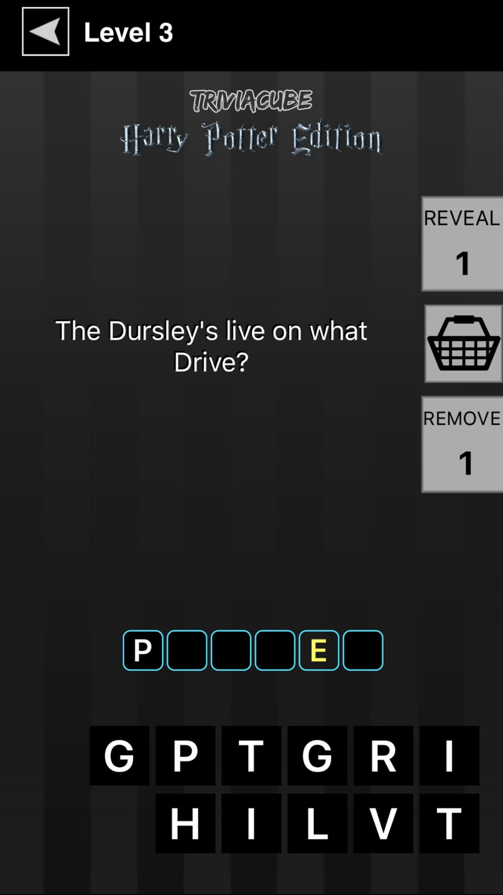 TriviaCube: Trivia Game for Harry Potter Cheat Codes