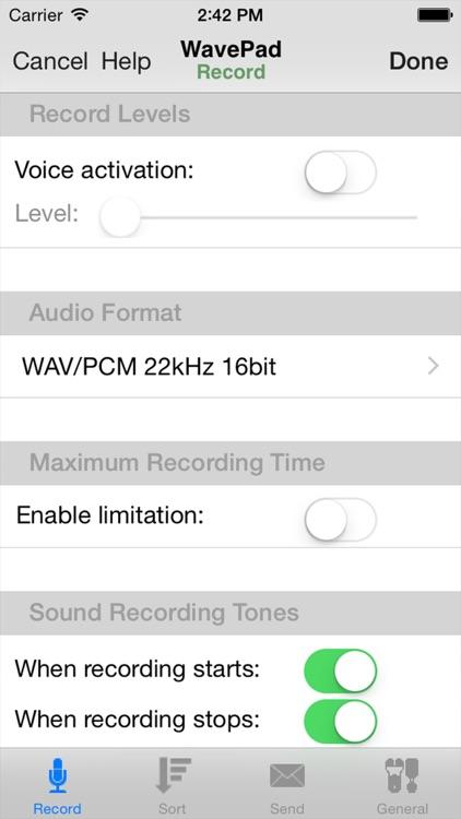WavePad Master's Edition screenshot-3