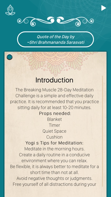 28 Day Meditation Challenge screenshot-1