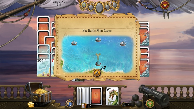 Seven Seas Solitaire HD screenshot-3