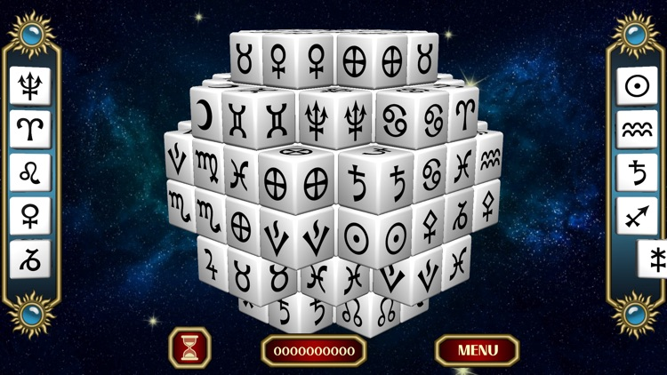 Horoscope Biorhythm Mahjong screenshot-0