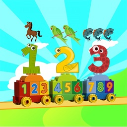 Toddler counting 123 - Touch the object To Start count for Preschool and kindergarten