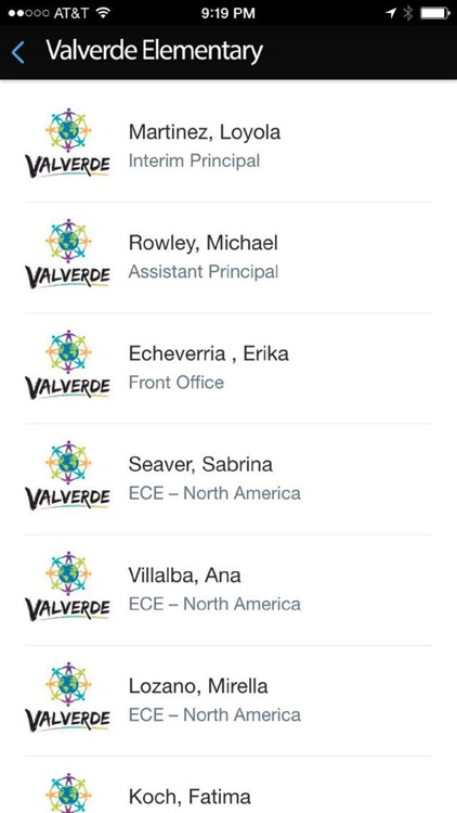 Valverde Elementary screenshot-2