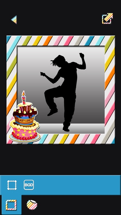 Frame Photos and Add Stickers with Happy Birthday Themes in Picture Editor screenshot-3