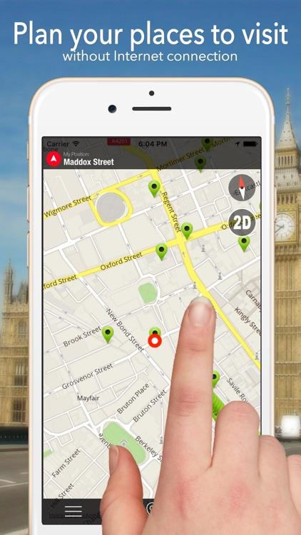 Iraq Offline Map Navigator and Guide
