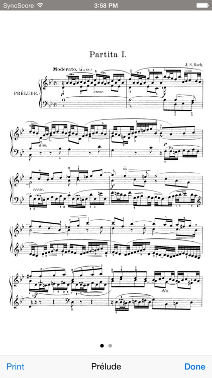 Bach Partitas - SyncScore screenshot-3