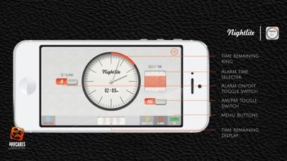 Nightlite - Night Light Alarm screenshot four