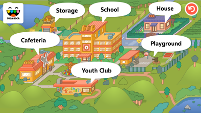 Screenshot for Toca Life: School in Kazakhstan App Store