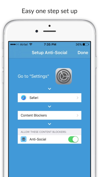 Anti-Social - Block social media content from websites screenshot-4