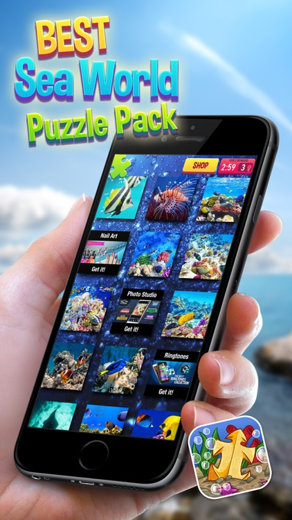 Best Sea World Puzzle Pack – Fun Educational Board Game for Kids of All Ages