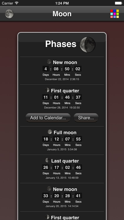 Moon Phases screenshot-1