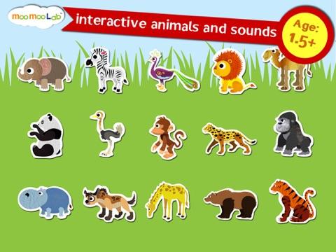 赤ちゃん動物園の動物, 野生動物 - アクティビティ, ドローイング, お絵かき, パズル by Moo Moo Labのおすすめ画像1
