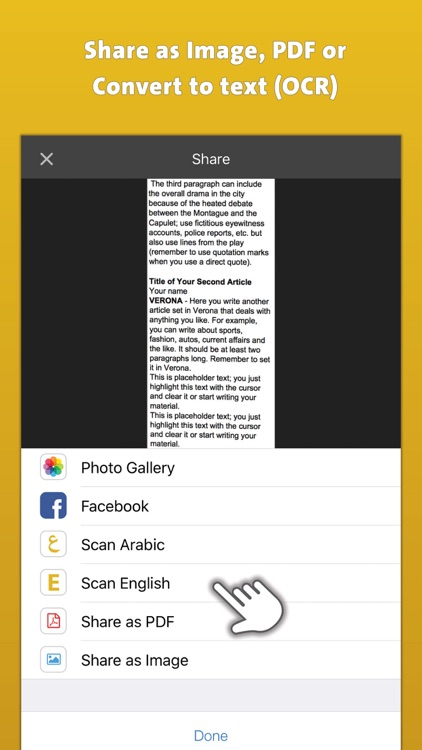 Quick Scanner & OCR | ماسحة سريعة by iComet