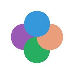 Quartet - four dots game