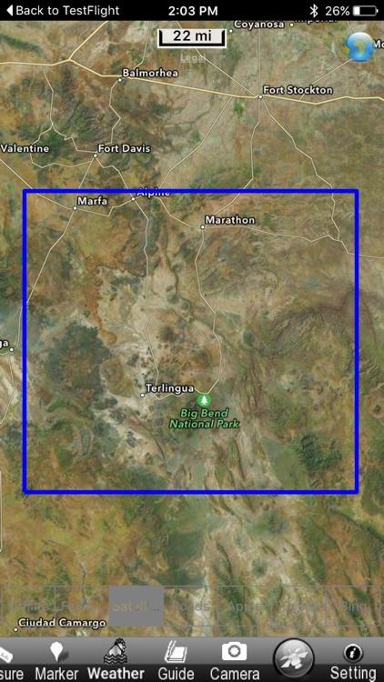 Big Bend National Park - GPS Map Navigator screenshot-4