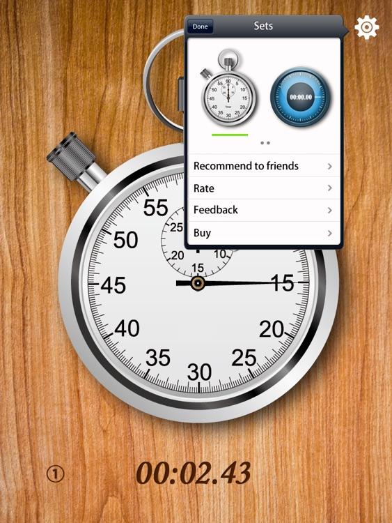 StopWatch for iPad screenshot-4
