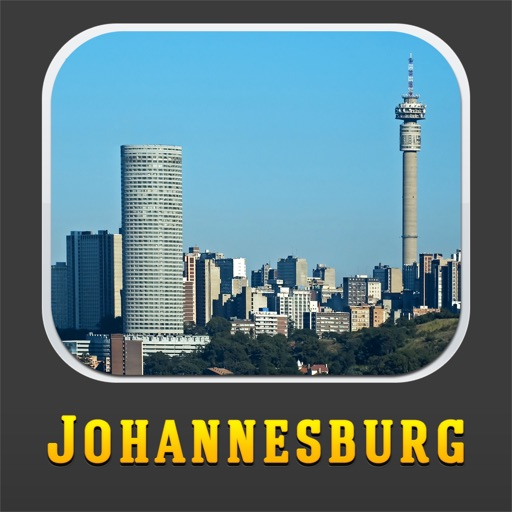 Johannesburg Tour Guide: Offline Maps with Street View and Emergency Help Info icon