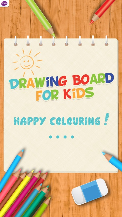 Doodle Drawing Board for Kids screenshot-3