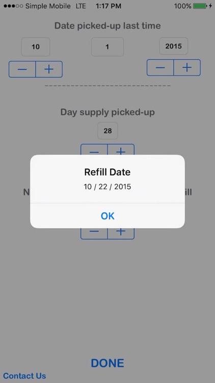 Refill Due Date Calculator